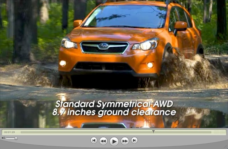 2013 Subaru Crosstrek Sales Training Video