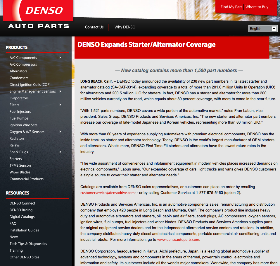 DENSO_Starter_Alternator_press_release copy
