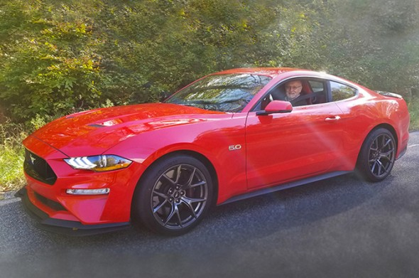 Mustang GT at IMPA Test Days 2018